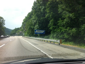 Crossing the NC/TN state line