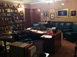 Truman's office in the library